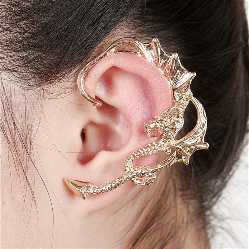 Chic Fashionable Individual Lady Creative Dragon Ear Clip