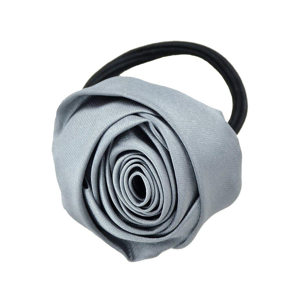 Affordable Colorful Rose Hair Accessories