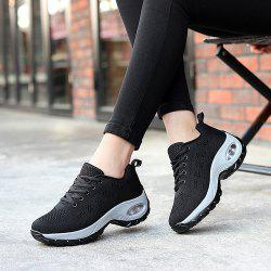 Women Platform Sneakers Female Comfortable Height Increasing Shoes -