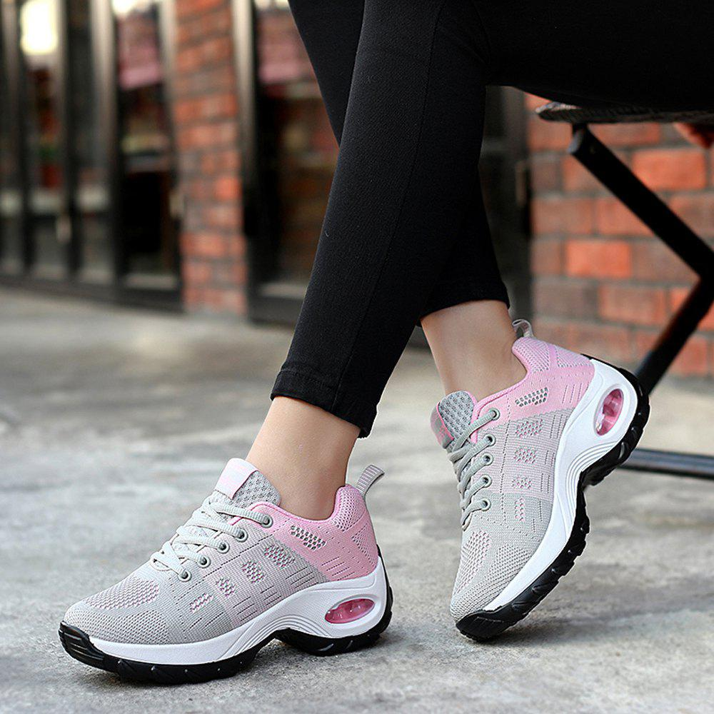 Buy Women Platform Sneakers Female Comfortable Height Increasing Shoes