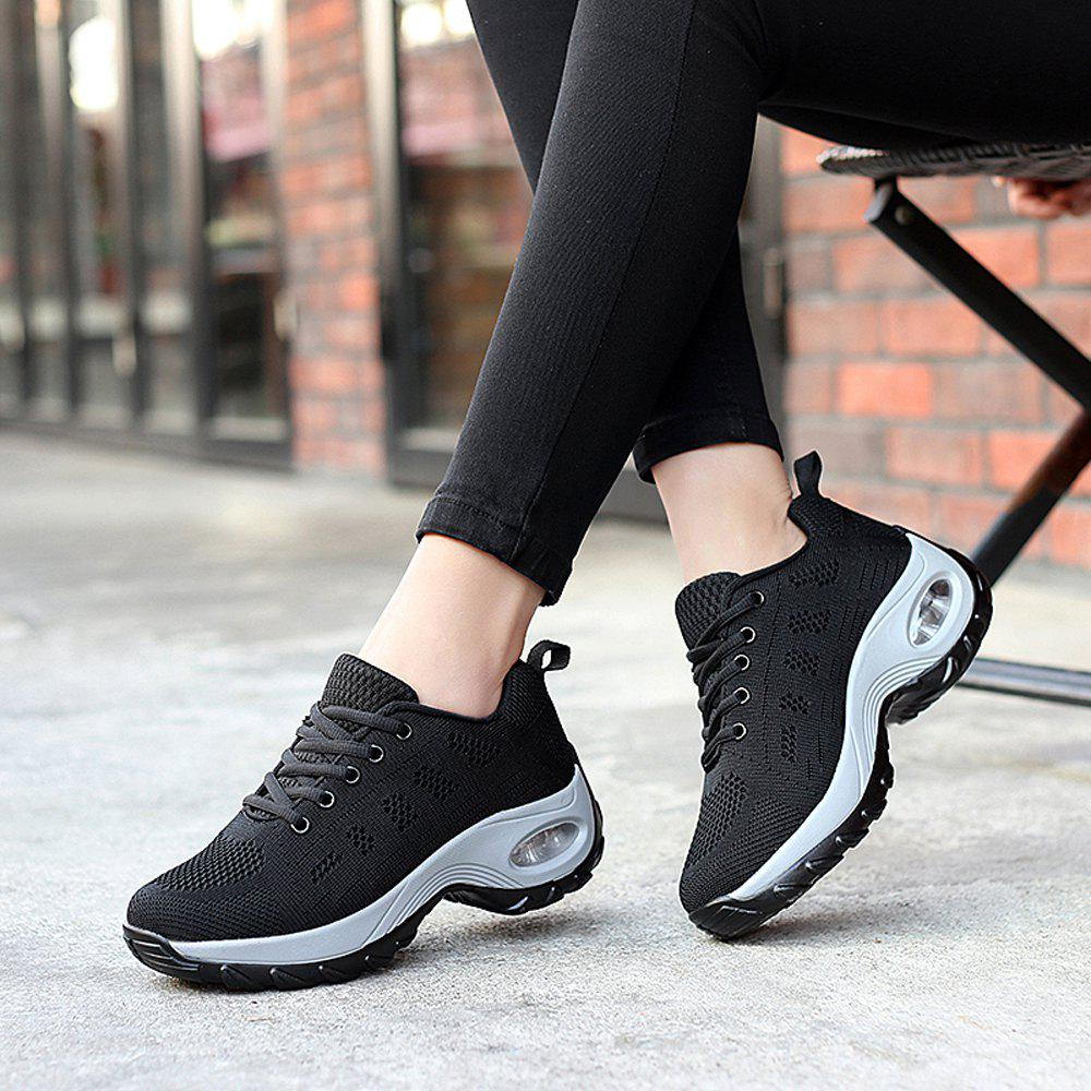 Best Women Platform Sneakers Female Comfortable Height Increasing Shoes