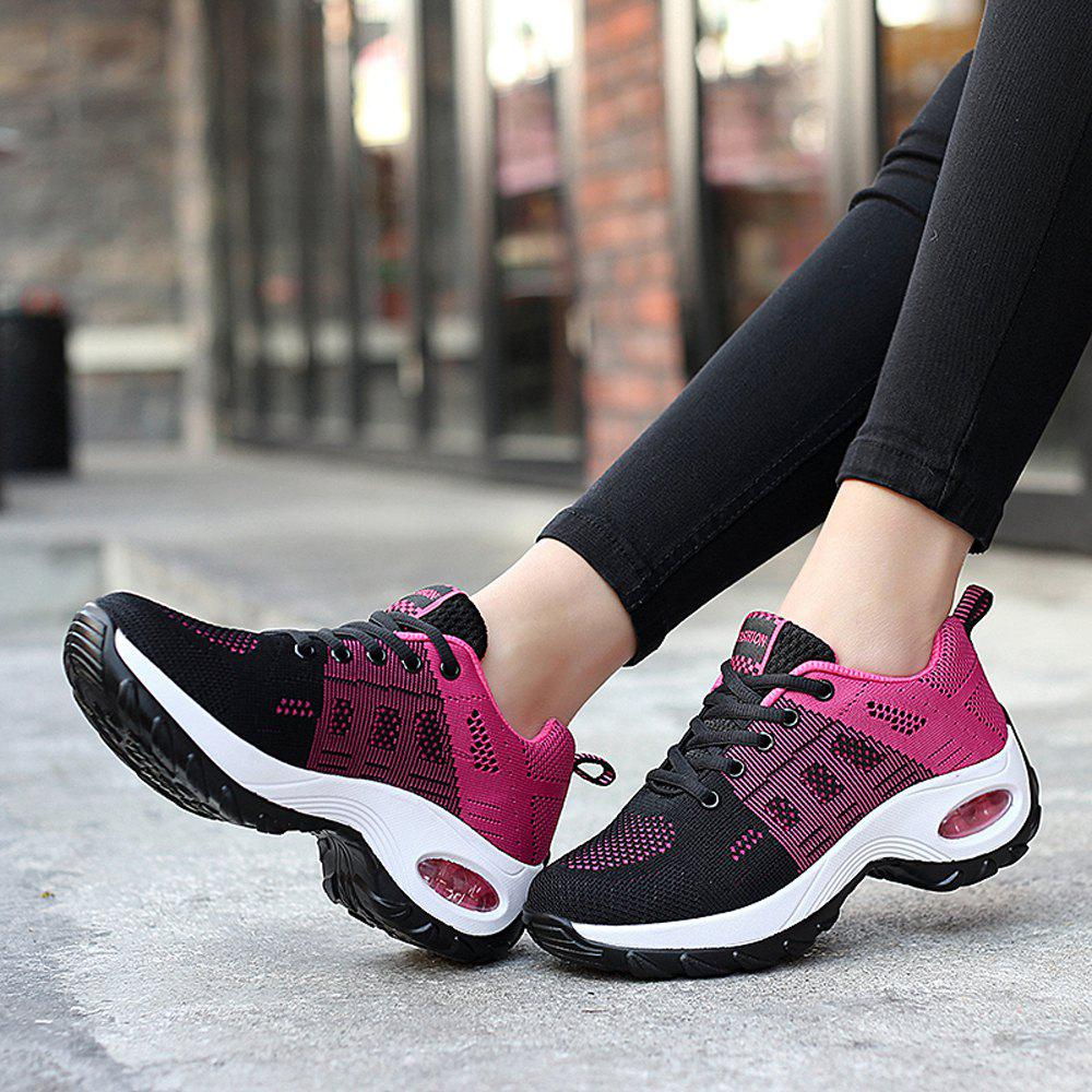 Hot Women Platform Sneakers Female Comfortable Height Increasing Shoes