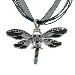 5 Colors Dragonfly Pendant Necklace -