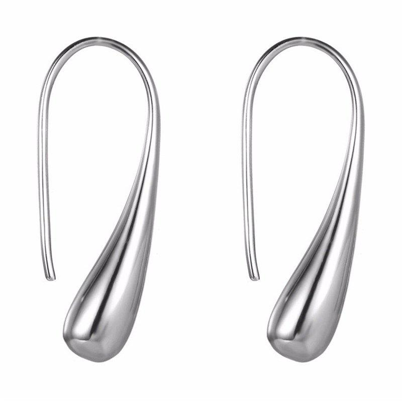 Chic Creative Personality Lady's Teardrop Earrings