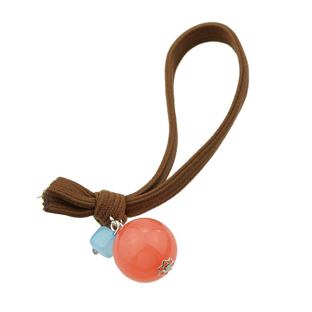 Affordable Candy Color Headbands Ball Charm Headwear