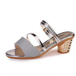 One Shoe And Two Summer Sandals For Women -