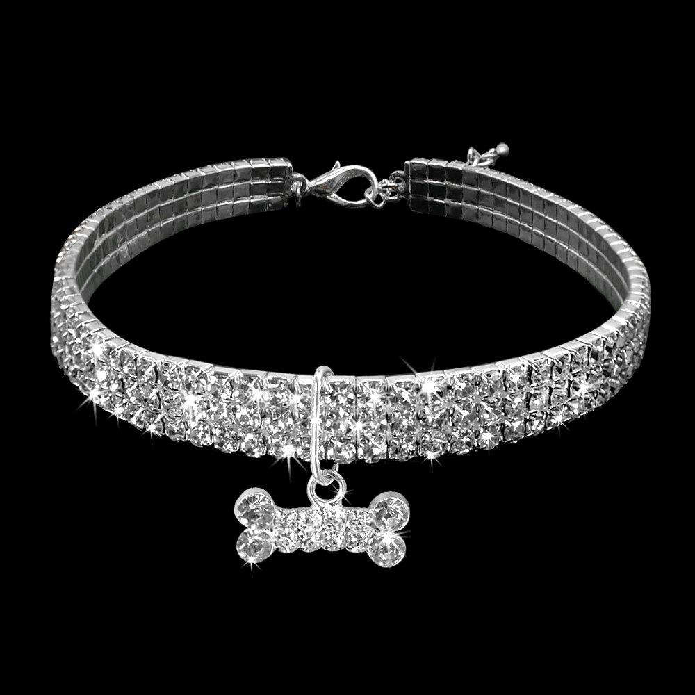 New Bling Pet Necklace Dog Accessories