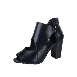 Hundreds Of Highheeled Autumn And Winter Shoes -