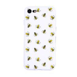 A Group of Bees Candy White Protective Flexible Case for iPhone7/8 -