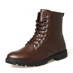 Men Fashion Casual Shoes Man Ankle Boots British Boot -