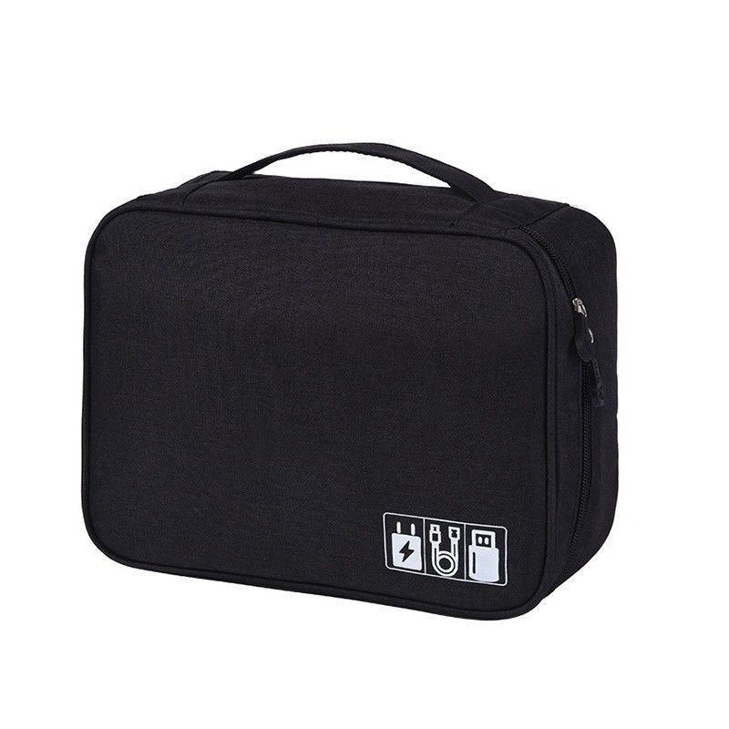 f96a0a6e8efe Best Electronic Accessories Cable Organizer Bag Travel USB Charger Storage  Case