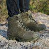Outdoor Hiking Shoes Men's Desert High-Top Military Tactical Boots -