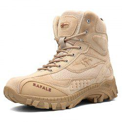 Men's Breathable Ankle Boots Men Army Desert Combat Boots -