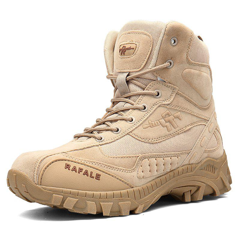 Store Men's Breathable Ankle Boots Men Army Desert Combat Boots