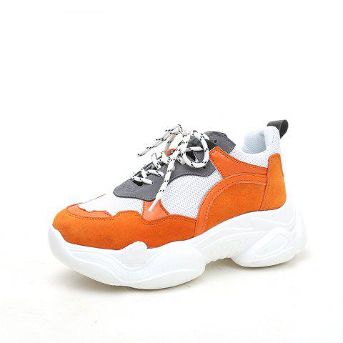 Comfortable Thick Bottomed Female Sneakers