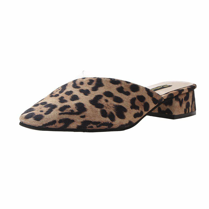New Point Slippers Are Fashionable for Women