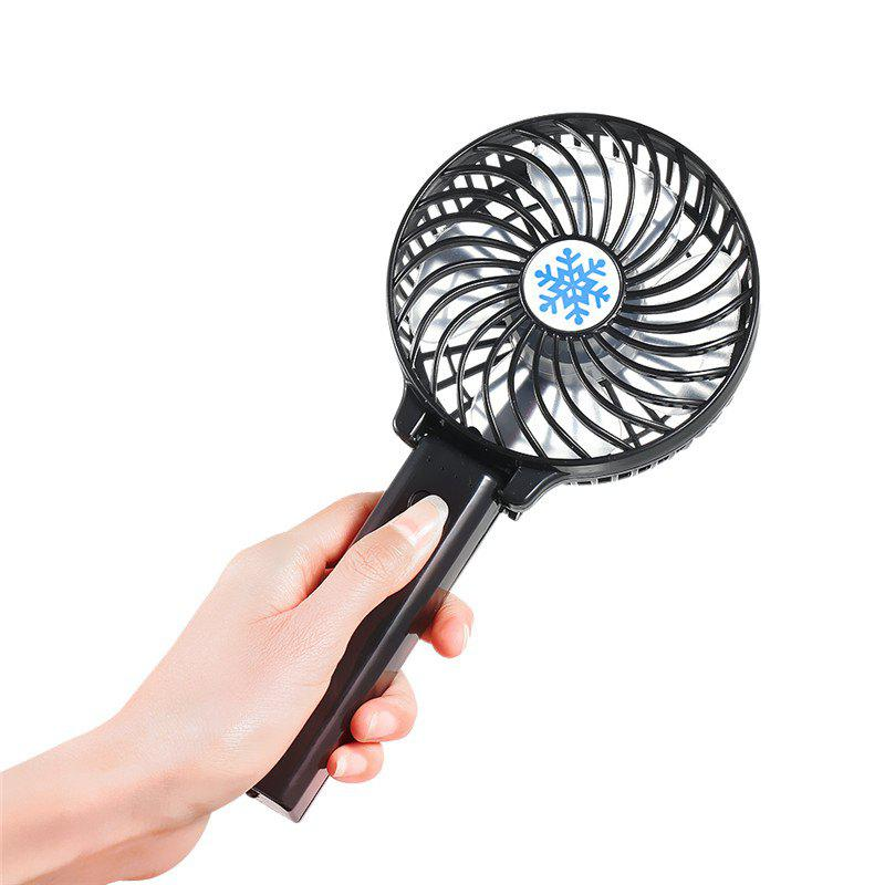 Fancy Handheld Portable USB Rechargeable Battery Operated Folding Cooling Electric Fan