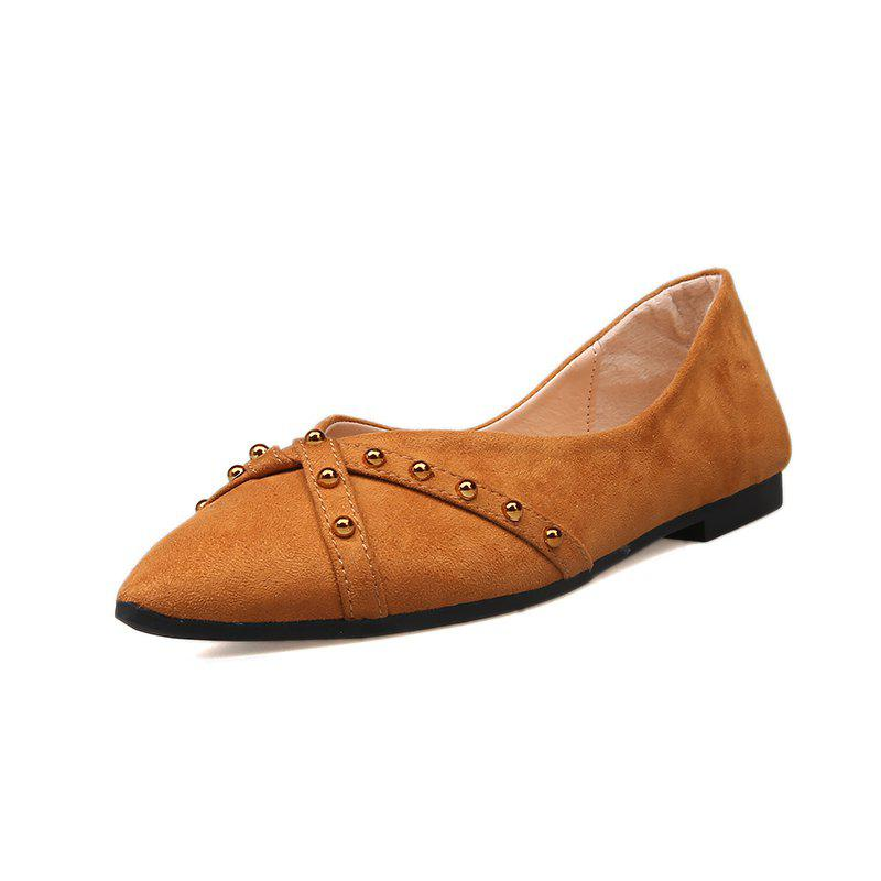 Latest Pointed Flatbottomed Shallowmouthed Single Shoe