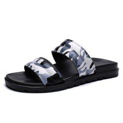 Men'S Summer Camouflage Leisure Fashion Slippers -