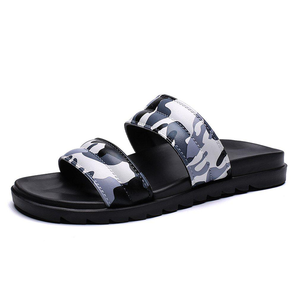 Store Men'S Summer Camouflage Leisure Fashion Slippers