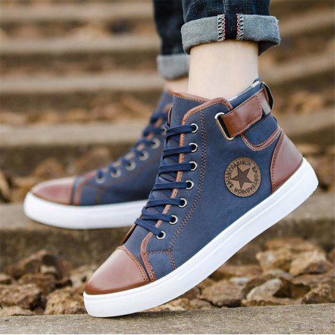 2019 Men Shoes Fashion Leather Footwear For Man New High Casual Shoes