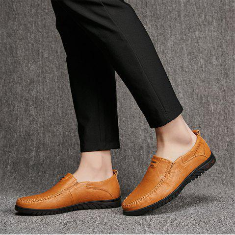 e6fc79c788d Split Leather Men Casual Shoes Fashion Top Quality Driving Moccasins