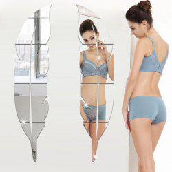 Shapes 3D Mirror Wall Stickers For Home Decoration -