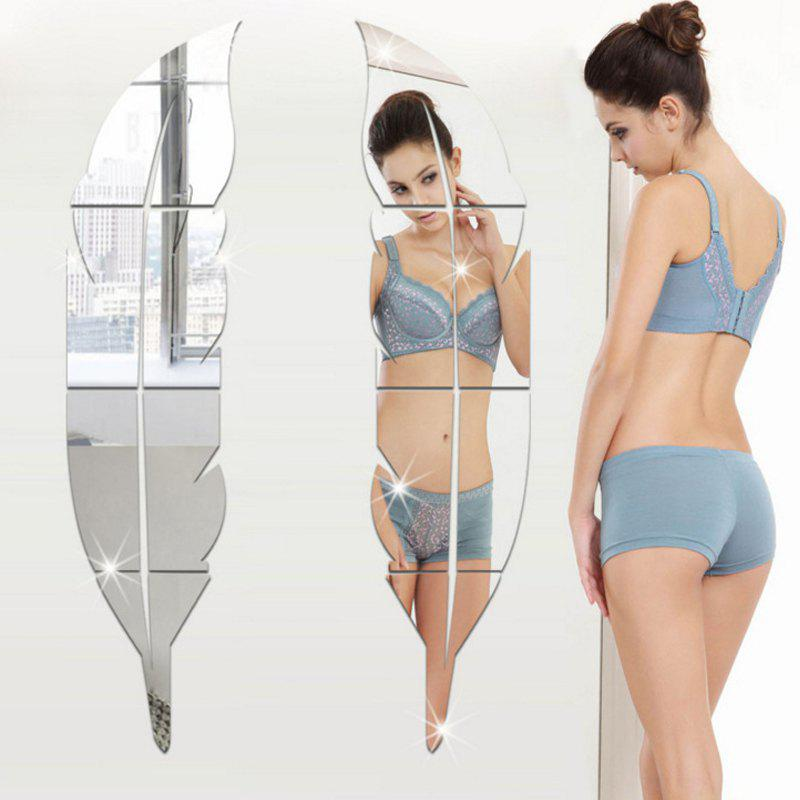 Discount Shapes 3D Mirror Wall Stickers For Home Decoration