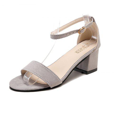 New Fashionable Sandals With One Word Button And Open Toe 029d5fb4e