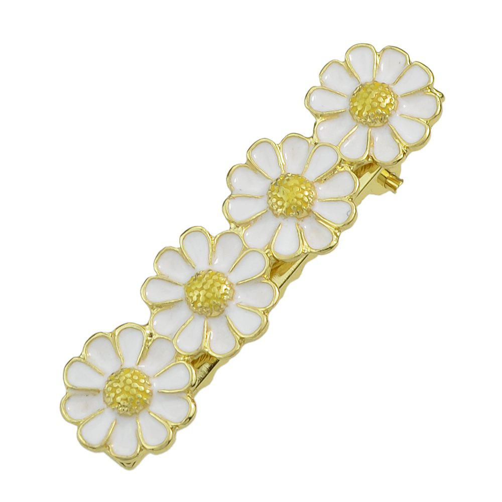 Shops Enamel Flower Hair Accessories