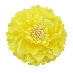 Yellow Artificial Flowers Hair Accessories -