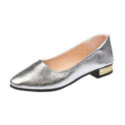Spring and Autumn Season Shallow Flat Sole Shoes -