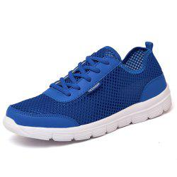 Men Shoes Summer Sneakers Breathable Casual Shoes Couple Lover Fashion Lace Up -