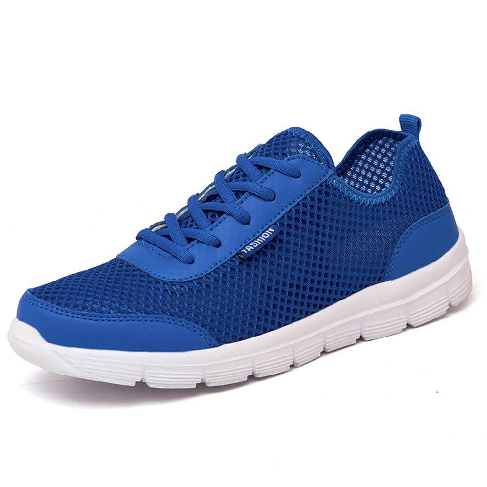 Cheap Men Shoes Summer Sneakers Breathable Casual Shoes Couple Lover Fashion Lace Up