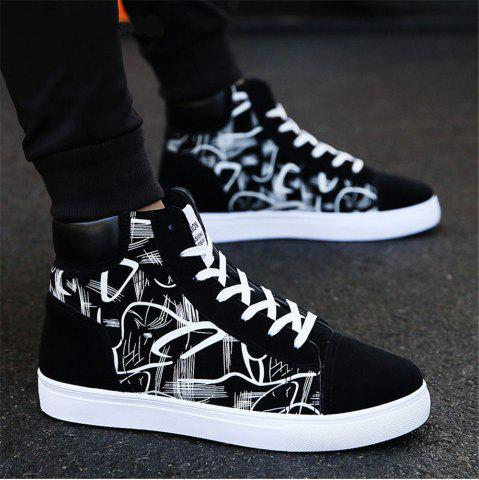 Men Boots Comfortable Quality High Top Shoes Men New Casual Shoes