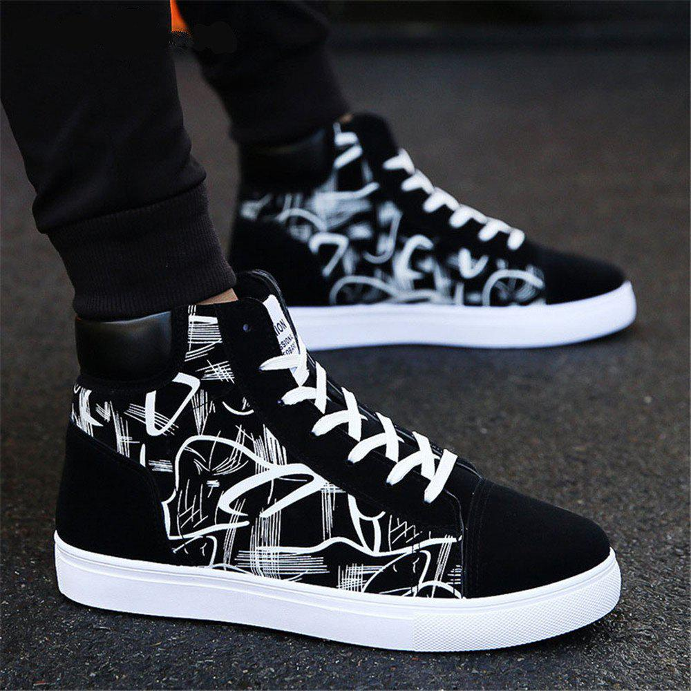 Outfits Men Boots Comfortable Quality High Top Shoes Men New Casual Shoes
