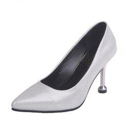 New Fashionable And Sexy Super High Heel Single Shoes -