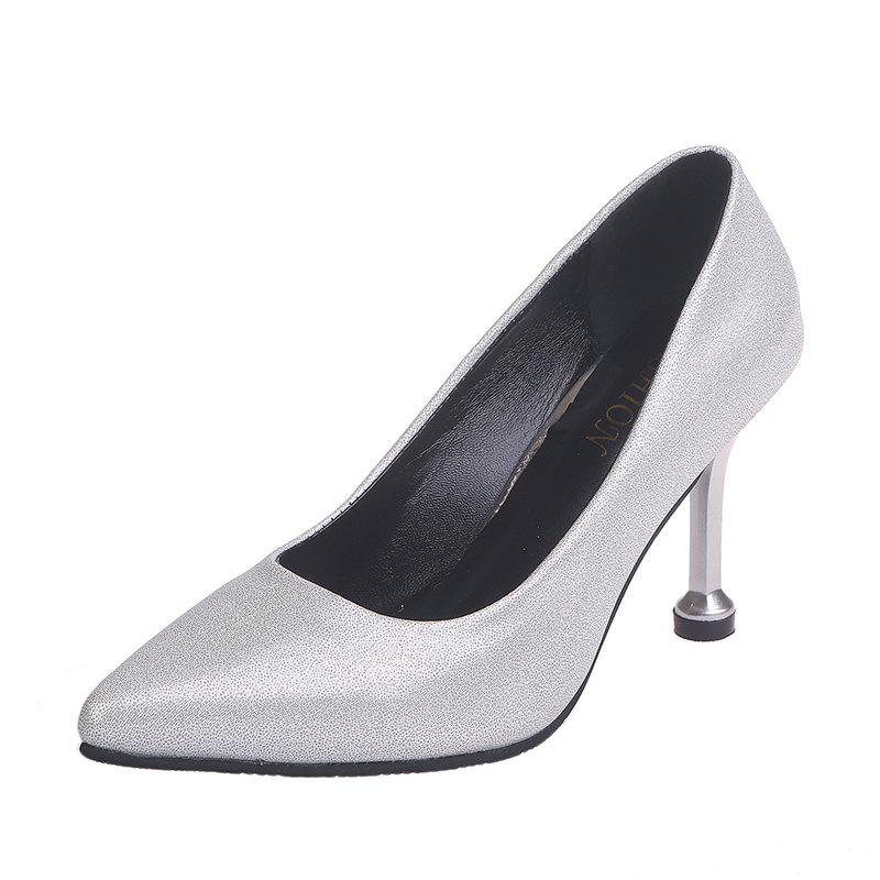 Hot New Fashionable And Sexy Super High Heel Single Shoes