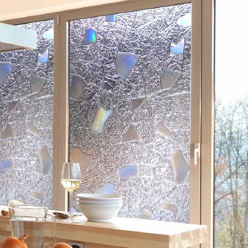 New Creative 3D Geometry Printing PVC Window Film Wall Sticker