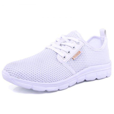ZEACAVA Summer Fashion Breathable Lightweight Large Size Mesh Shoes