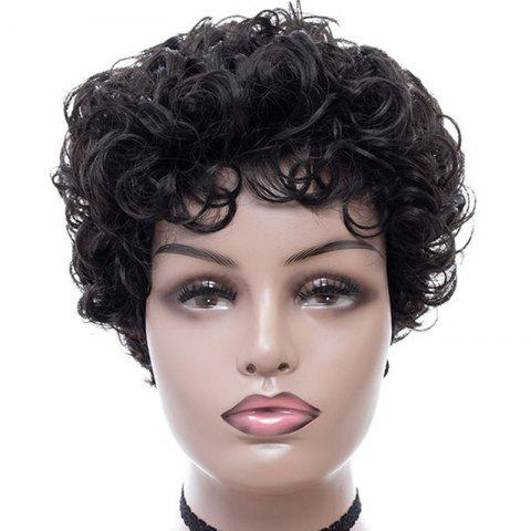 Fashionable Elegant Small Curl Short Wig