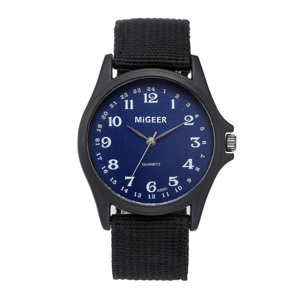 Store Men'S Fashion Nylon Quartz Wrist Watch