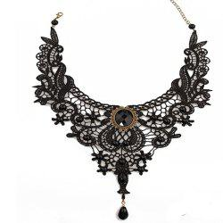 Lace Driled Lady's Clavicle Chain -