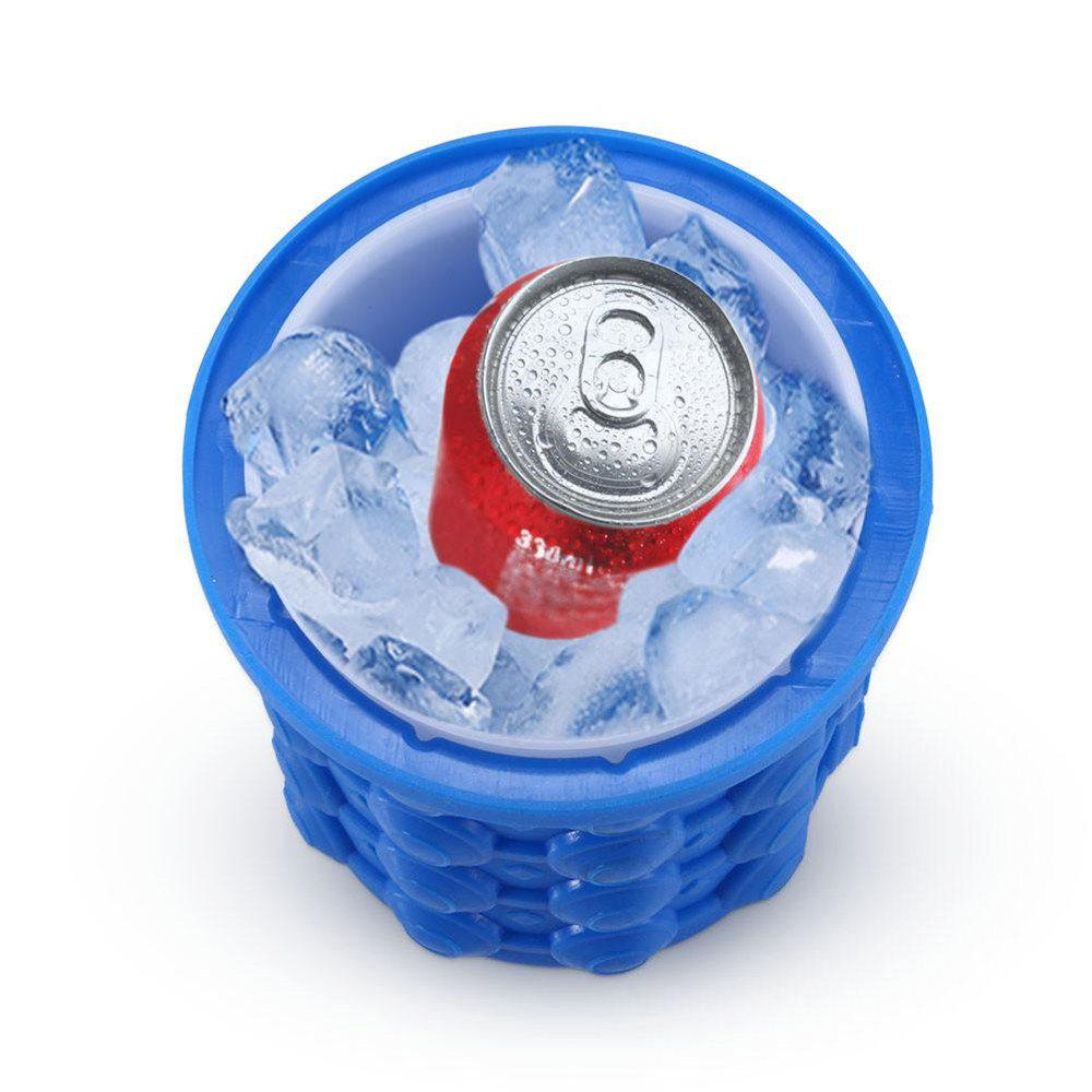 Latest Ice Cube Maker Saving Ice Ball Maker Bucket Trays Mold
