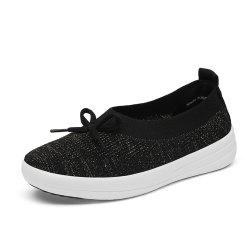 Women'S Spring and Summer Flying Woven Casual Shoes -