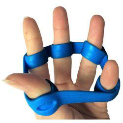 Silicone Finger Extensor Resistance Band Decompressing Toy -
