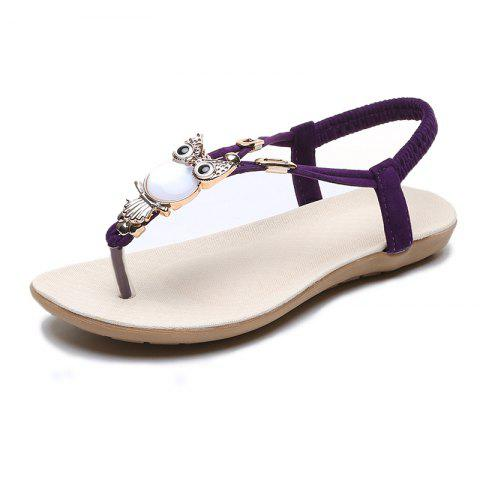 FlatBottomed Beach Shoes SlipProof Casual Toe Sandals For Women
