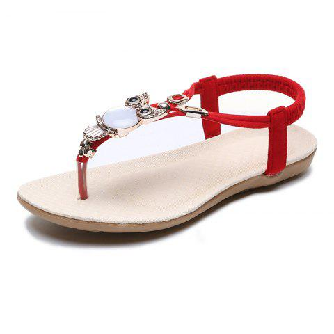 544db4f850a98 FlatBottomed Beach Shoes SlipProof Casual Toe Sandals For Women
