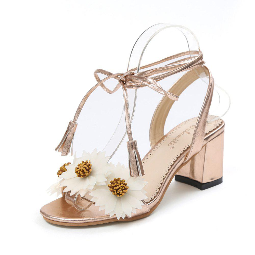 Affordable Fashion High Heel Ankle Strap Female Sandals L1