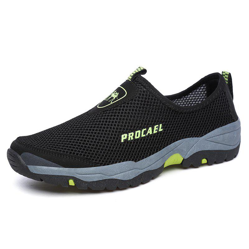 Outfit Sports Outdoor Mesh Breathable Hollow Lazy Shoes For Men